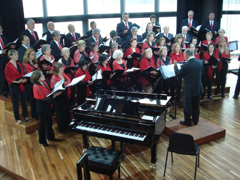 Coro cantando coro cantando