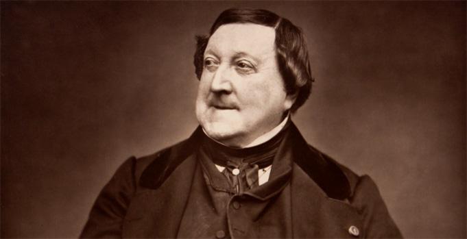 Gioacchino Rossini. foto medici