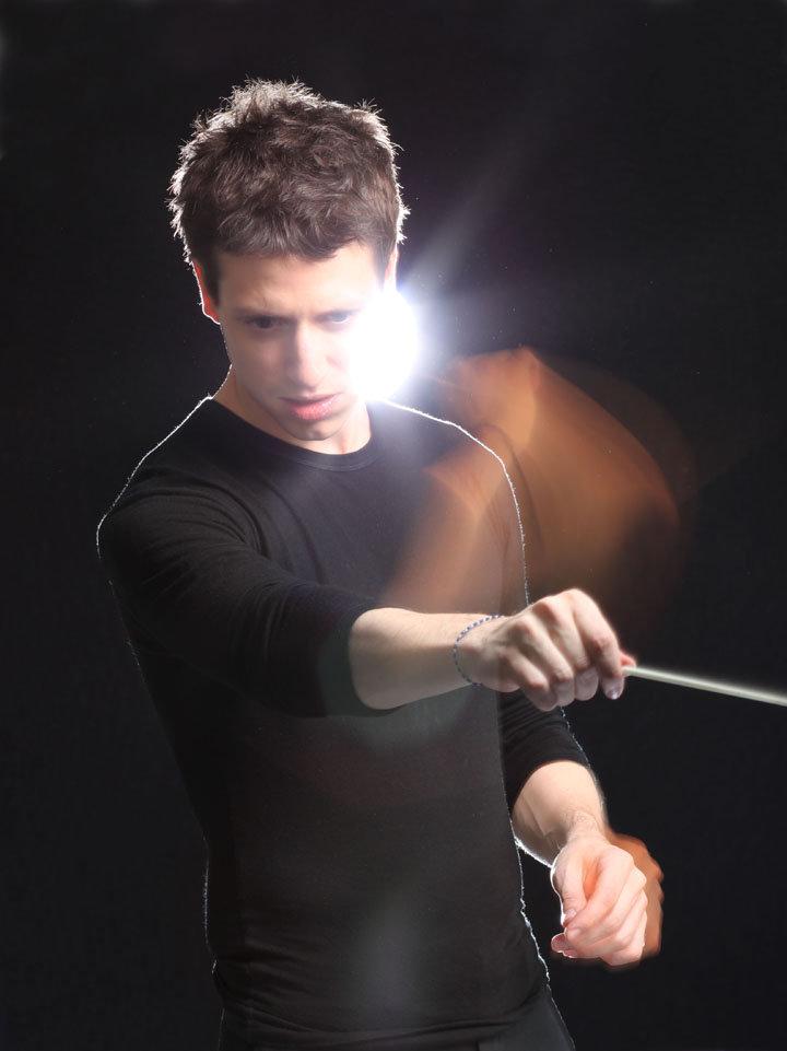 El joven y talentoso director Paolo Bortolameolli. foto paolobortolameolli