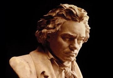 Busto de Ludwig van Beethoven. fofo wikipedia
