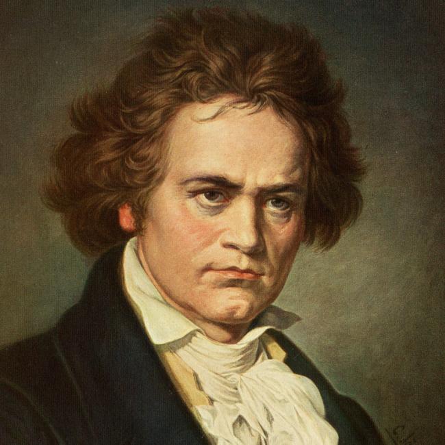 Ludwig van Beethoven. foto beethovenplus