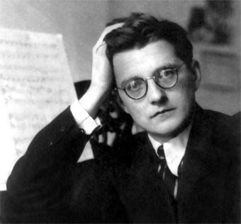 Dmitri Shostakovich. foto biografiasyvidas