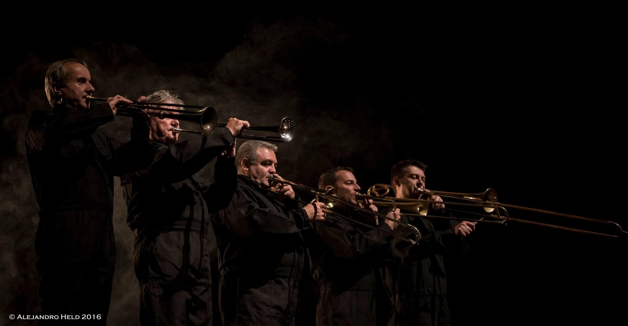 El formidable conjunto Les Sacqueboutiers. foto teatrorancagua